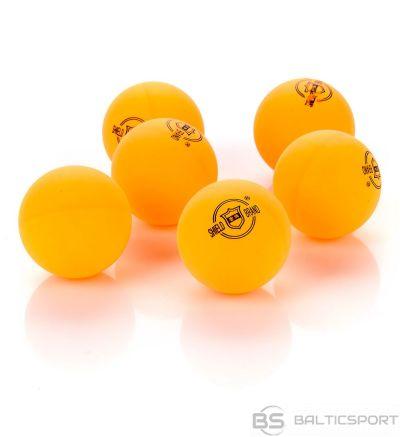 Galda tenisa bumbiņas 6 gab Shield / dzeltena
