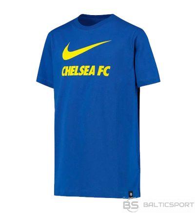 Nike Chelsea FC Big Bērnu futbola t-krekls CW4083 480 T-krekls / M (137-147cm) / Zila