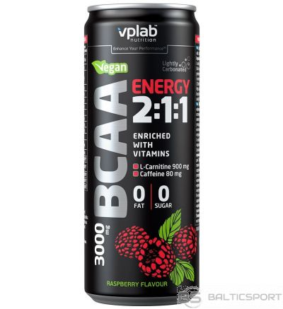 VPLAB BCAA Energy 2:1:1 330 ml Raspberry