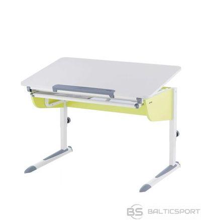 Adjustable desk KETTLER LOGO UNO X for children, white/white/lime