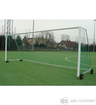 Alumīnija futbola vārti, pārvietojami,  5x2m - 120x100mm