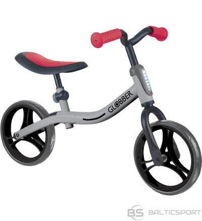 GLOBBER balansa ritenis Go Bike silver/red, 610-192