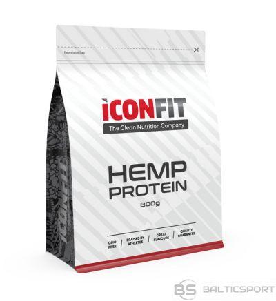 ICONFIT Kaņepju proteīns, vegānisks (800g) Hemp Protein (50% protein) Vegan