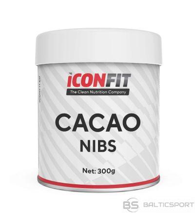 ICONFIT Maltas kakao pupiņas (300g) Cacao Nibs Natural