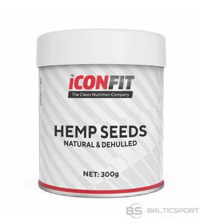 ICONFIT lobītas kaņepju sēklas (300g) Hemp Seeds (dehulled)