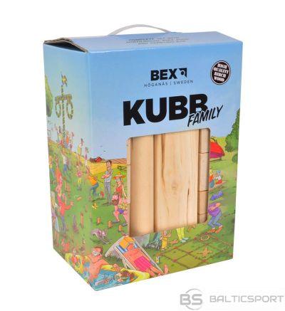 KUBB Family dārza spēle / brīvdabas spēle