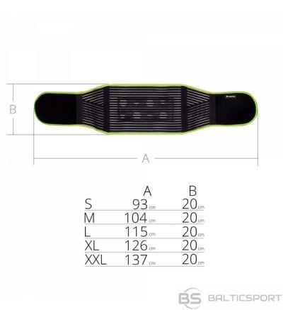 Magnetic Bamboo Kidney Belt inSPORTline / bambusa nieru josta