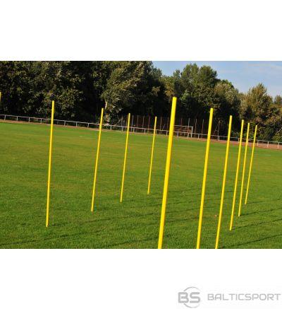 Plastmasas statīvu komplekts futbola treniņiem (12 gab.)