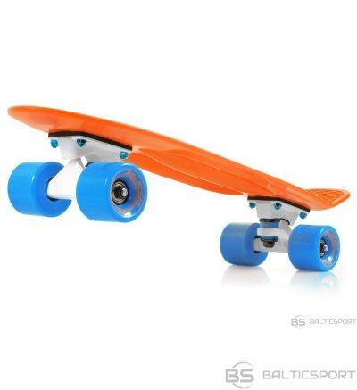 Skrituļdēlis -penny board -ātruma dēlis -Pennyboards - oranžs /zils / carrot