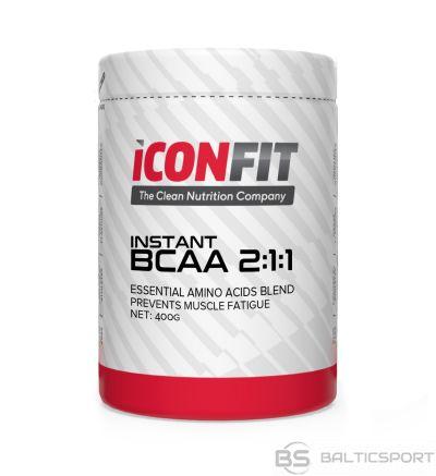 ICONFIT BCAA 2:1:1 Aminoskābju komplekss 400g (dažādas garšas) Amino Acids