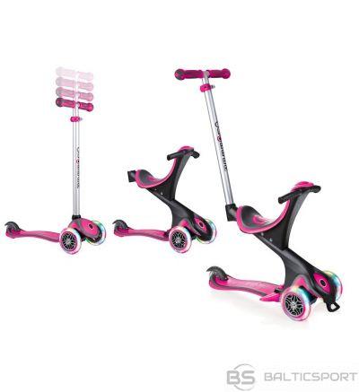 Skrejritenis GLOBBER  Go Up Comfort Lights pink, 459-110 S , rozā