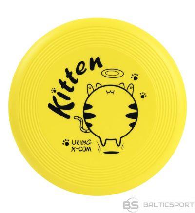 Mīksts putu frisbija disks X-COM UK105 GRAFF Kitten kids / lidojošais šķīvītis