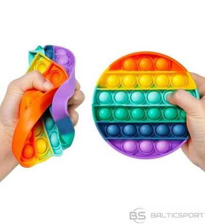 Sensorā rotaļlieta Bubble pop antistresa spēle / push bubble antistress / aplis