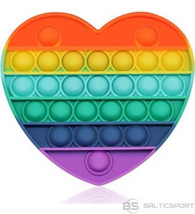 Spēle Bubble pop antistresa spēle / push bubbe pop spēle / sirds forma