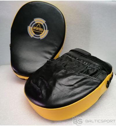 Boksa ķepas -pāris -2 gb - ādas boksa ķepas / boxing pads