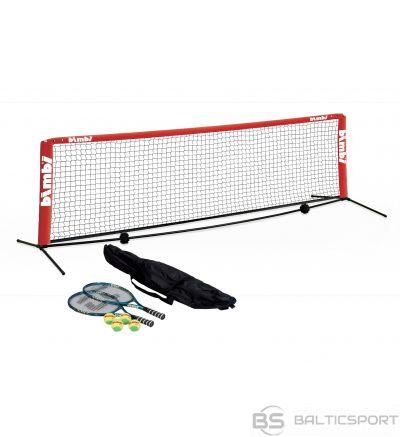 Tenisa Komplekts / Small Court Tennis Net - 3 m Street Set