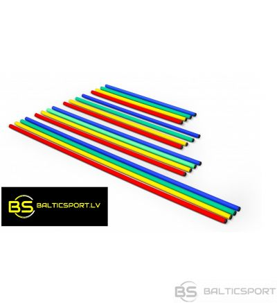 Vingrošanas, slaloma treniņu nūja plastmasas - 80cm