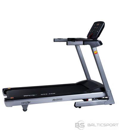 Skrejceliņš WNQ F1-4000A Home Use Treadmill, Handhold Sensor; Slope range: 0-10%, 120 kg, 1.5 HP - Max 2.5 HP, Silver, LED display