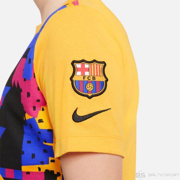 Nike FC BARCELONA DC1474 726 / S (128-137cm) / Dzeltena