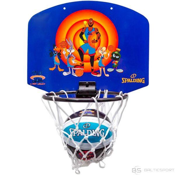 Basketbola dēlis Mini Spalding Space Jam Tune Squad Violet-Orange 79005z