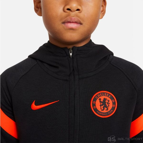 Nike Chelsea FC DB8177 014 Džemperis / L (147-158cm) / Melna
