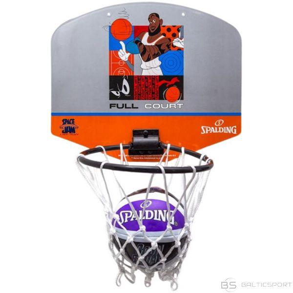 Basketbola dēlis mini Spalding Space Jam Tune Squad Grey-Orange 79007z