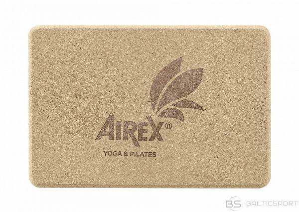 Airex Jogas bloks Yoga brick / korķis / 15 x 22.5 cm
