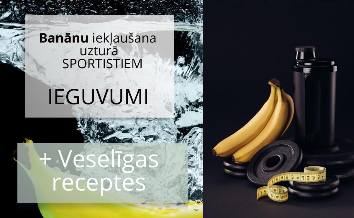 Banāni sporta uzturā