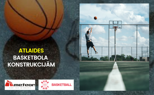 Basketbola konstrukcijas