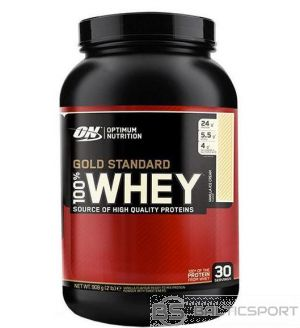 Optimum Nutrition Gold Standard 100% Whey 908 g - Vaniļas / 908 g