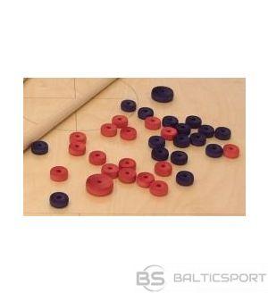 Novusa kauliņu komplekts 32+2mammas (sarkans un melns)