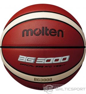 Basketball ball training MOLTEN B5G3000, synth. leather size 5