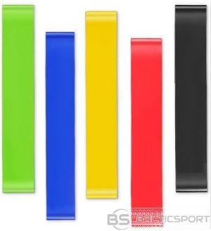 5 cilpveida pretestības gumiju komplekts - 5 pretestības / loop resistance band set of 5