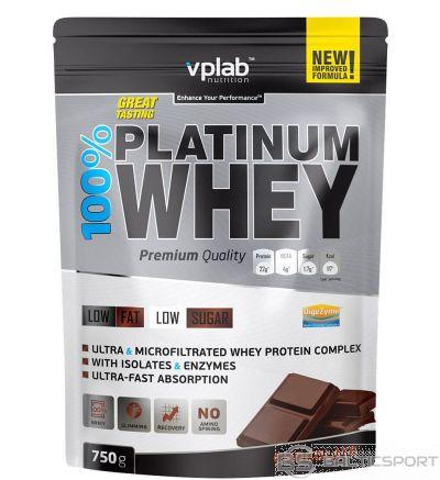 VPLab 100% Platinum Whey 750 g - Šokolādes / 750 g