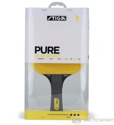 Stiga Pure, yellow (concave)   3* galda tenisa rakete