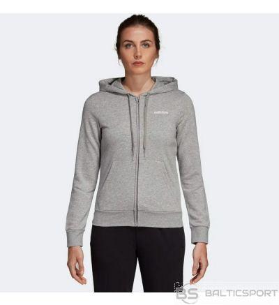 Džemperis adidas W E PLN FZ HD DU0664 / Pelēka / XS