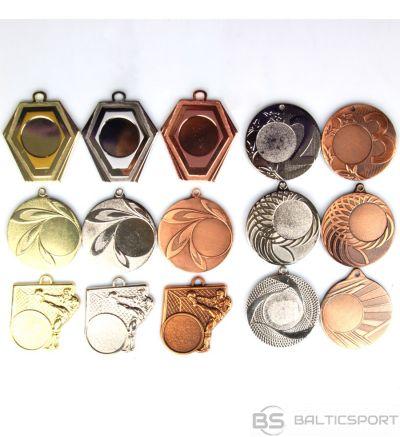 Tryumf Medaļa uz 25 mm / vidēja / zelta / sudraba / bronzas uzlīmes