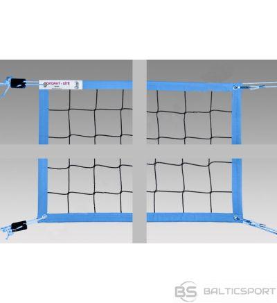 Volleyball net POKORNYSITE BEACH ECONOM PP-8,5x1m 100x100X2,5mm, 4 locks