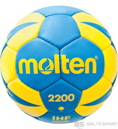 Handball ball training MOLTEN H0X2200-BY synth. leather size mini