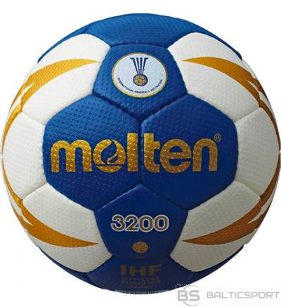 Handball ball training MOLTEN H1X3200-BW synth. leather, size 1
