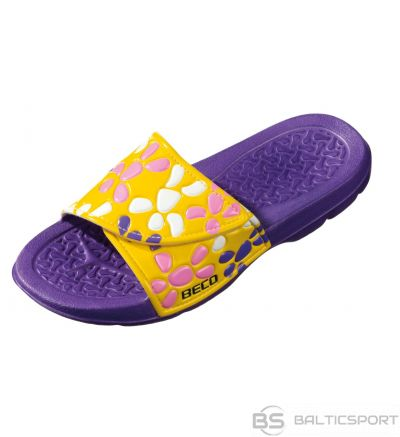 Slippers for kids BECO 90019 77 size 28 purple