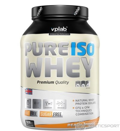 VPLab Pure Iso Whey - Persiku-mango / 908 g