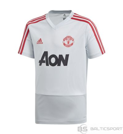 Krekls adidas MUFC TR JSY Y DP6829 / Balta / 164 cm