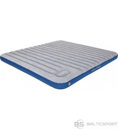 High Peak Cross Beam King Extra Long Airbed piepūšamā gulta ar integrētu kājas pumpi (40047)