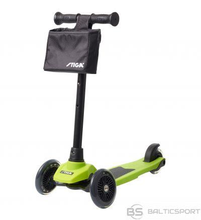 Stiga Bērnu 3 riteņu skūteris Mini Kick Supreme+ green
