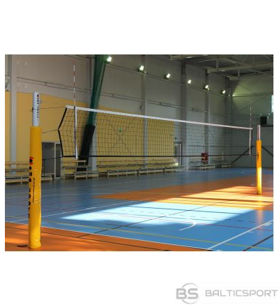 Polsteri volejbola stabiem - alumīnija stabiem