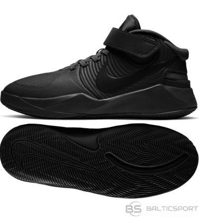 Nike Team Hustle D 9 FlyEase BV2952 010 apavu / 37 1/2 / Melna