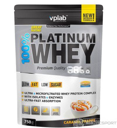 VPLab 100% Platinum Whey 750 g - Karameļu / 750 g