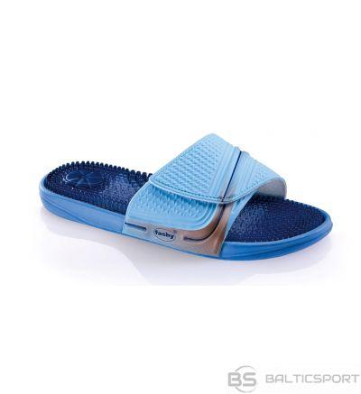 Slippers unisex FASHY MASSAGE 51 size 36 blue