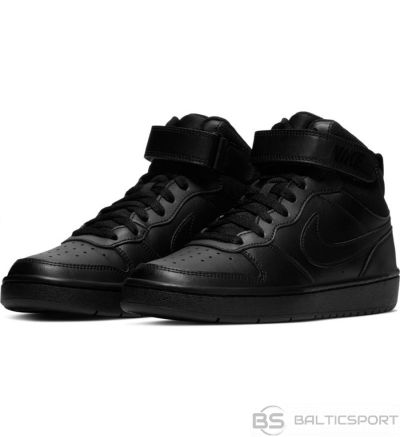 Nike Court Borough Mid 2 CD7782 001 / Melna / 38 1/2